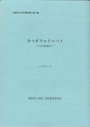 第11集キマダラルリツバメ(1990.3)_R
