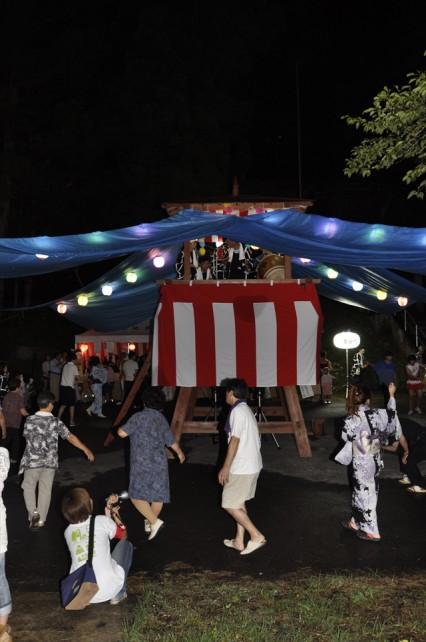 「滝谷お盆檜踊り」大盛況1_R