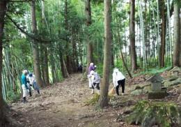 町民川井神社清掃